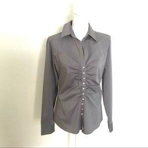 🆕New York & Company Grey Button Down🆕
